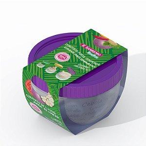 Conjunto 3 Potes Plásticos Sanremo Porta Temperos