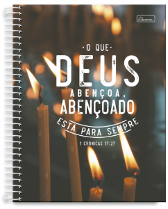 Caderno Universitário 10m 200F Cd Cadersil Advanced Religioso