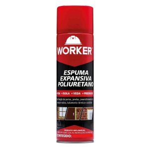 Espuma Poliuretano 290ml/284g Worker