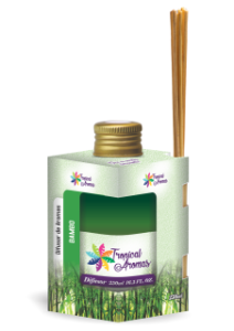 Difusor Tropical Aromas  250ml Bambu