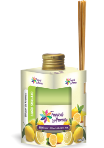 Difusor Tropical Aromas 250ml Limão Siciliano