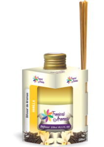 Difusor Tropical Aromas 250ml Vanilla