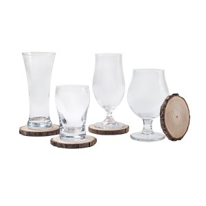 Conjunto Copos de Cerveja Cristal Haus 8Pçs