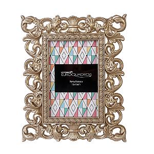 Porta Retrato Euroquadros 10x15 Neo Classic Plást