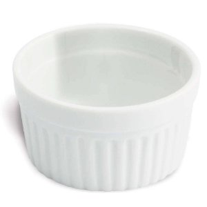 Ramequin De Porcelana Oxford 50ml Branco