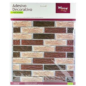 Adesivo Decorativo de Parede Wincy 30x30 DER50015