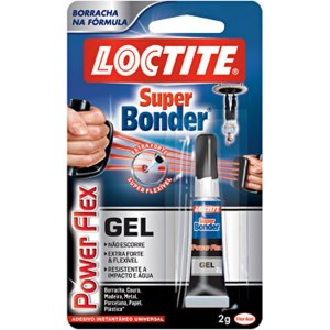 Cola Super Bonder Power Flex Gel 2g Loctite