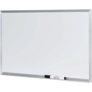 Quadro Branco Moldura Alumínio 090X060cm