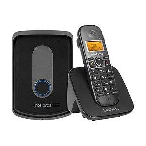 Interfone e Telefone sem fio com Ramal Externo TIS 5010 - Intelbras