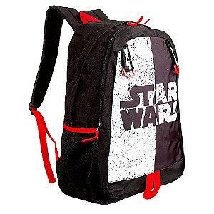Mochila Juvenil Disney Star Wars Preta de Costa - Luxcel