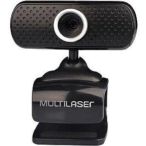 Webcam plugeplay 480p mic usb preto wc051 - Multilaser