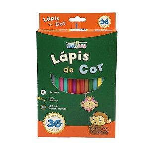 Lápis de Cor 36 Cores Leo & Leo