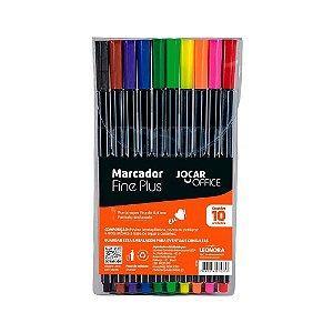 Marcador Fine Plus 10 Cores