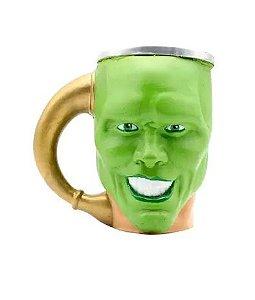Caneca O Máskara 3D Rosto Jim Carrey The Mask ZC Licenciada - Zonacriativa