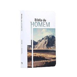 Bíblia do Homem   NVI   Letra Grande   Soft Touch   Montanha