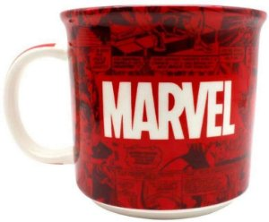 Caneca Tom 350ml Marvel Classic