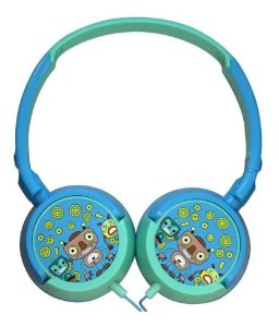 Headphone Robôs Hp-305 Com Fio Oex - Azul