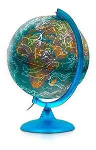 Globo Geográfico Night & Day Iluminado 25cm