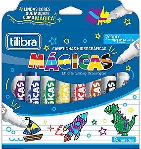 Hidrografica Magica 7 Cores + 1 magica, Tilibra