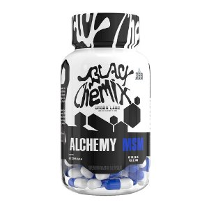 ALCHEMY MSM 60 CAPS BLACK CHEMIX BY UNDER LABZ