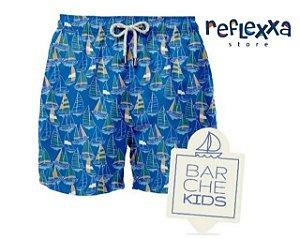 Swim Shorts infantil Barche Navegar Azul