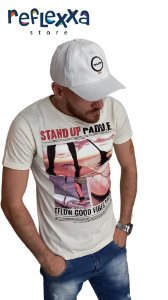 Camisa TFLOW Stand UP Off White