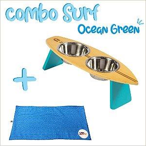 COMBO SURF OCEAN GREEN