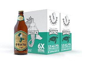 Cerveja Praya 600ml - Caixa com 12 unidades