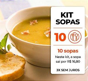 Kit 10 Sopas
