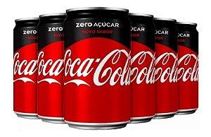Coca Zero 220 ML (Pack Com 12 Unidades)