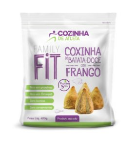 Coxinha de Batata-Doce com Frango 420g - 12 unidades