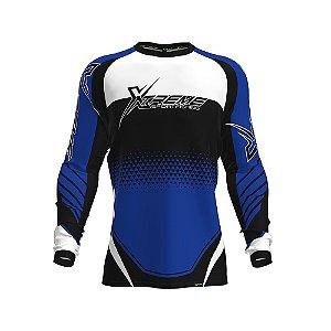 Camisa Fpf Proteção Solar Xtreme Azul