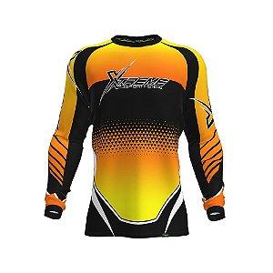Camisa Fpf Proteção Solar Xtreme Laranja