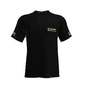 Camiseta Fpf Manga Curta Dry Fit Preta