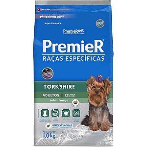 Ração Premier Raças Específicas Yorkshire para Cães Adultos 1kg