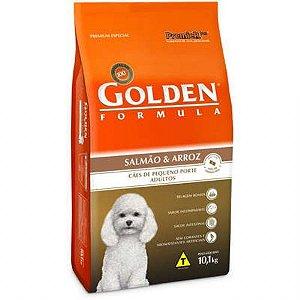 Ração Golden Fórmula Mini Bits Para Cães Adultos Pequeno Porte Sabor Salmão e Arroz 1kg