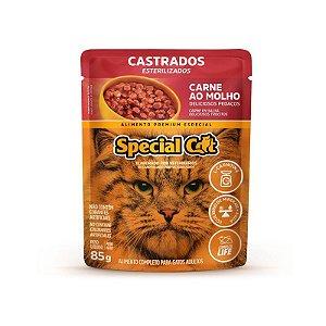 CAIXA DE SACHE SPECIAL CAT 12UNIDADES CARNE CASTRADOS