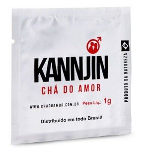 Chá do Amor Kannjin – Afrodisíaco masculino natural  1g