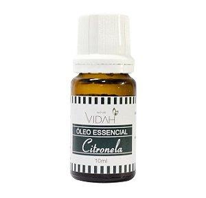 Óleo essencial citronela 10ml Vidah