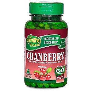 Cranberry 60 cápsulas 500mg Unilife