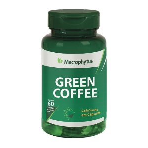 Green Coffe 60 cápsulas 500mg Macrophytus