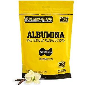 Albumina - Naturovos 500g  - Sabor Baunilha