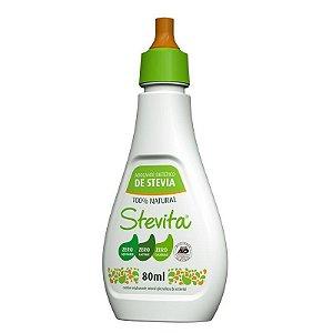 Adoçante Stevita 80ml 100% stevia