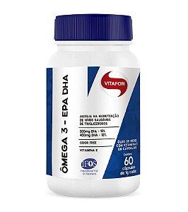 Omega 3 EPA DHA 60 cápsulas 1000mg Vitafor