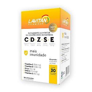 Suplemento Alimentar Lavitan Imunidade CDZSE 30 Comprimidos Revestidos