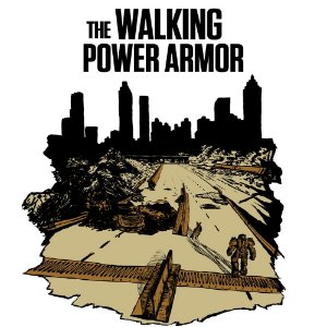 Camiseta The walking power armor