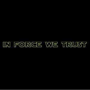 Camiseta In force we trust