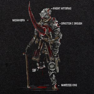 Camiseta Odin Armor preto mescla