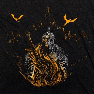 Camiseta Odin Faraam Preto Mescla