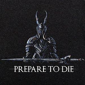 Camiseta Odin Prepare preto mescla